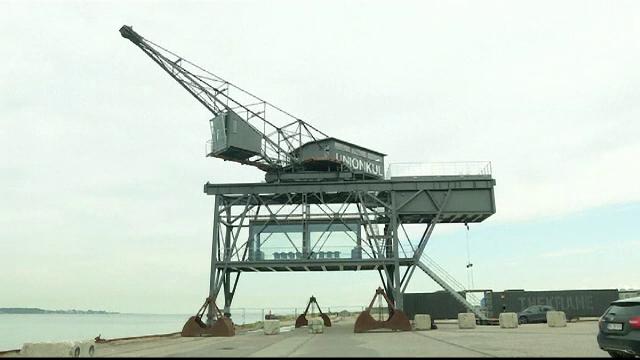 O macara folosită la descărcatul cărbunelui a fost transformată într-un minihotel de lux