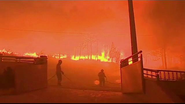 Incendiu în Groenlanda, deși 80% din suprafață e acoperită cu gheață