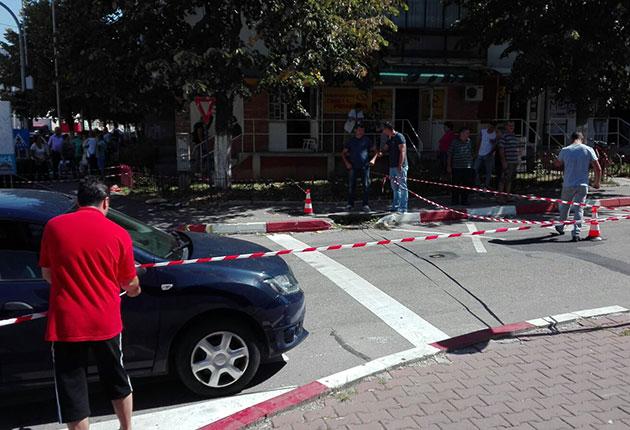 Femeie ucisă în centrul orașului Mioveni, de un bărbat bolnav psihic