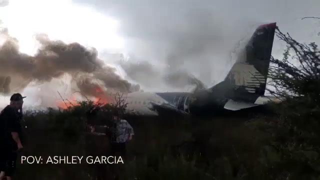 Mărturiile supraviețuitorilor accidentului aviatic din Mexic: