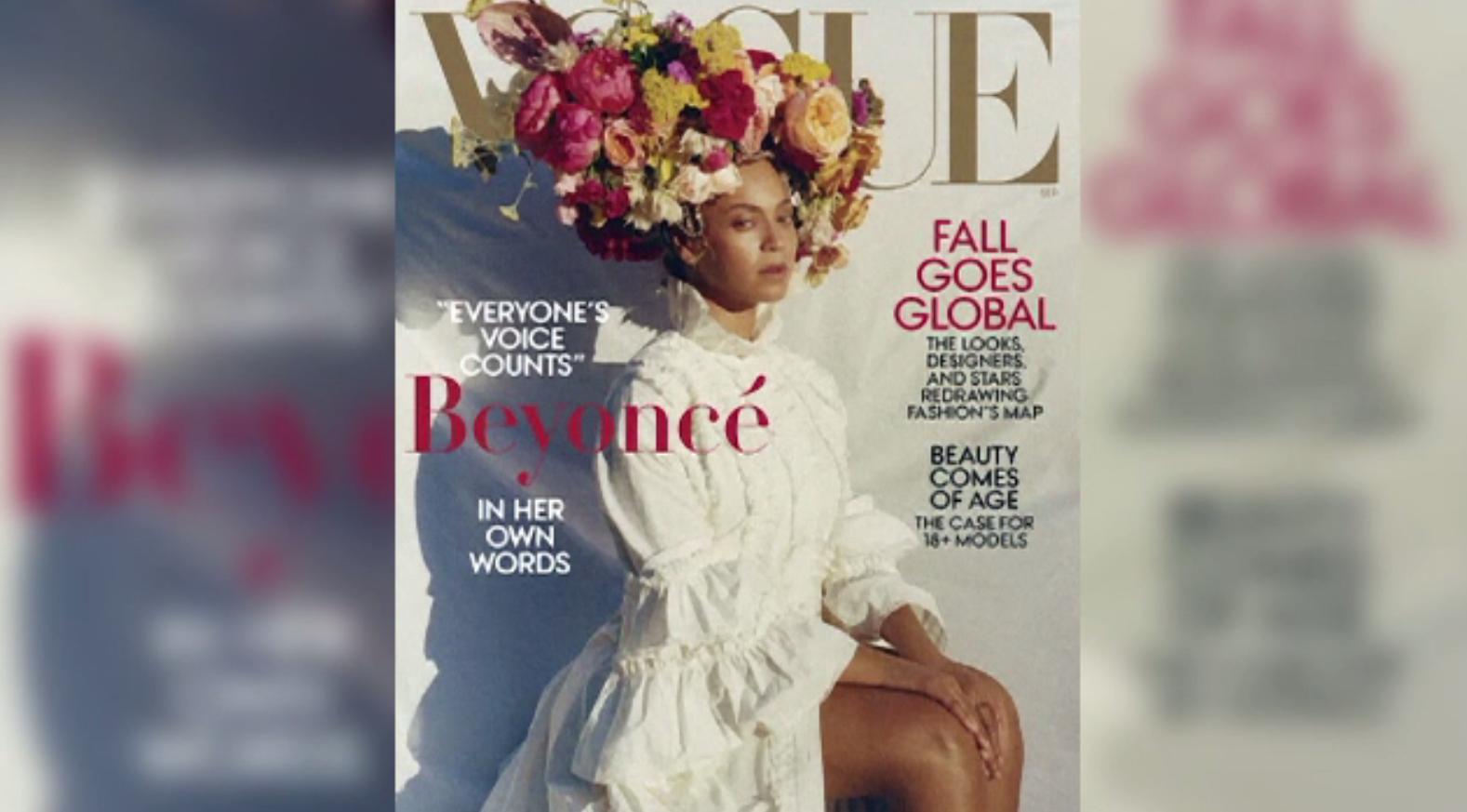 Beyonce, prima persoană de culoare care apare pe coperta revistei Vogue