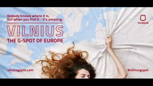 Campanie controversată în Lituania. Capitala Vilnius, prezentată drept