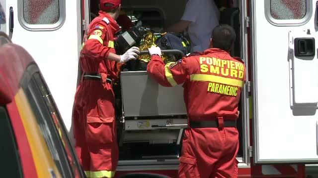 Bloc evacuat la Ocna Sibiului, din cauza unei acumulări de monoxid. 3 copii, la spital