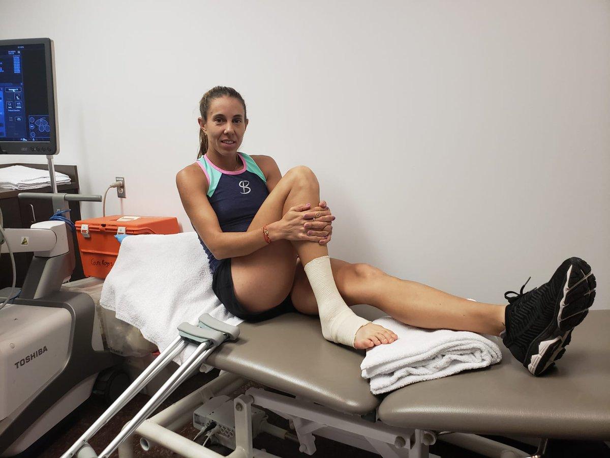 Primul mesaj al Mihaelei Buzărnescu după accidentarea la gleznă. Va rata US Open