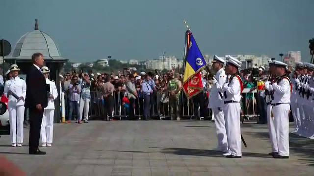 """Mesajul președintelui Iohannis de Ziua Marinei: """"Toți care gândim și simțim românește să construim o Românie mai bună"""""""