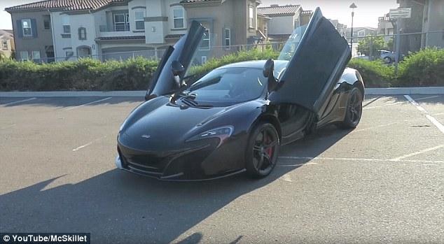 Un star YouTube a murit in accident. A intrat cu masina McLaren de 500.000 de dolari pe contrasens