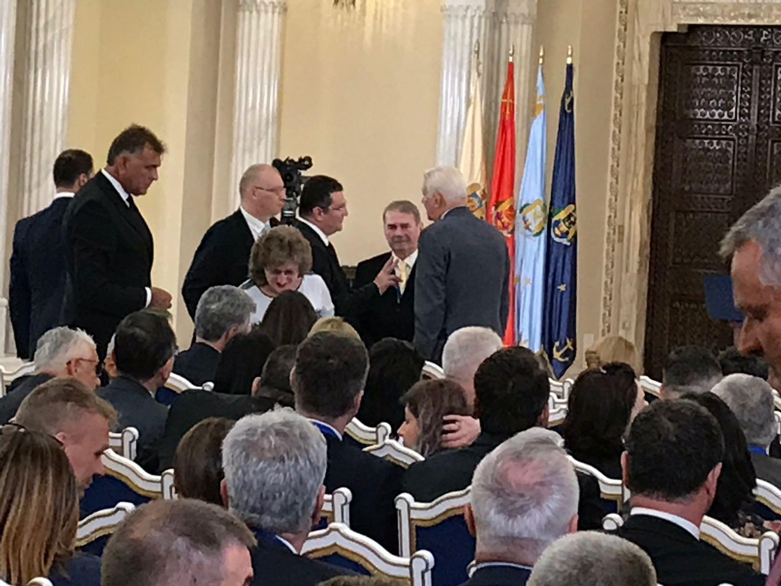 Ambasadorul George Maior a stat de vorbă cu ministrul Meleșcanu la Cotroceni