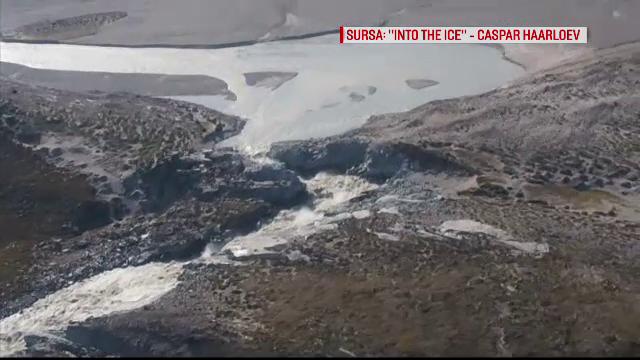 Alertă în Groenlanda. 11 miliarde de tone din gheață au dispărut într-o singură zi
