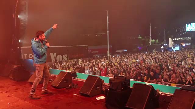 DJ Shiver a surprins la Untold, invitându-l pe Alex Dima pe scenă. Reacția publicului