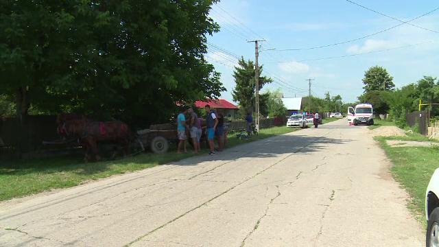 Un biciclist a murit strivit de o căruță în Dâmbovița