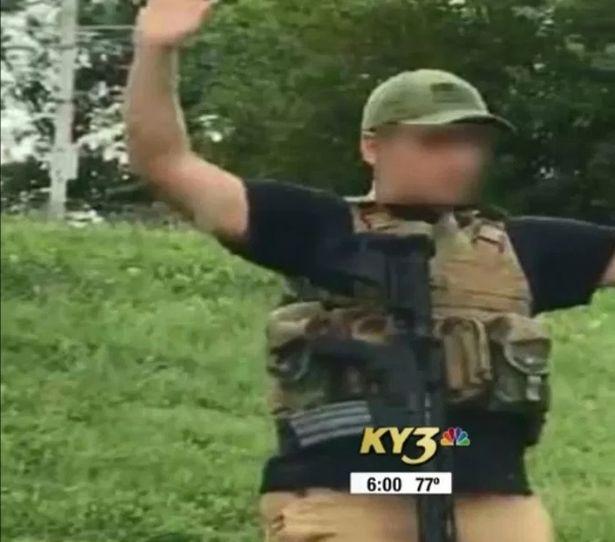 """Tânărul înarmat care a stârnit haos într-un magazin din SUA: """"A fost un experiment social"""""""
