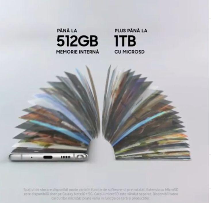 Samsung a prezentat noile modele Galaxy: Note 10 și Note 10 Plus