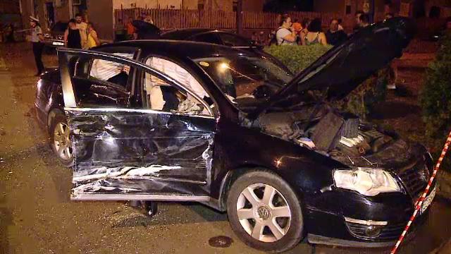 Carambol în Turda, din cauza unui șofer neatent. Patru mașini s-au ciocnit