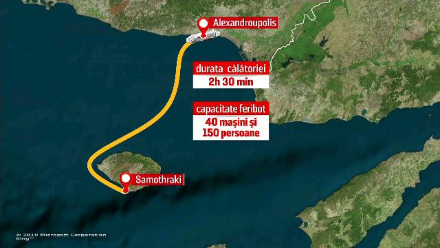 Anunţul MAE pentru românii blocaţi în insula Samothraki. Cand vin navele de transport
