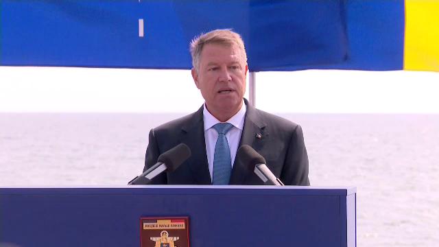 Discursul preşedintelui de Ziua Marinei: