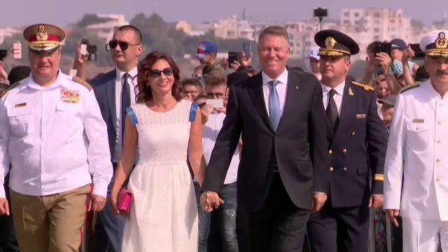 Carmen Iohannis, apariție spectaculoasă la Ziua Marinei. GALERIE FOTO