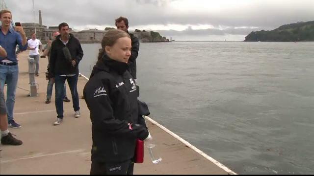 Gestul neașteptat al familei princiare din Monaco pentru activista Greta Thunberg