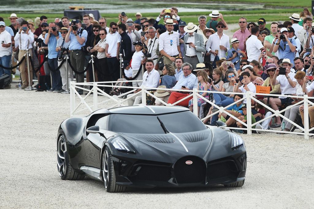 Cea mai scumpă mașină din istorie. Noul model Bugatti, cumpărat cu 16.800.000 €. FOTO