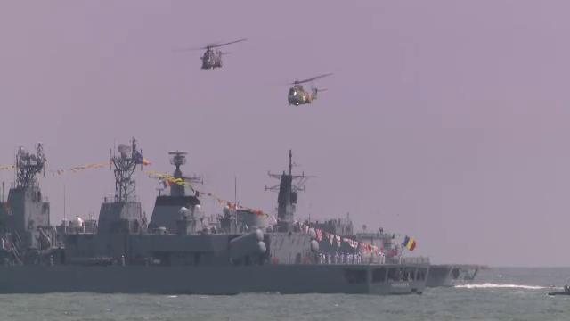 Filmul exercițiilor militare de Ziua Marinei. Cele mai spectaculoase momente