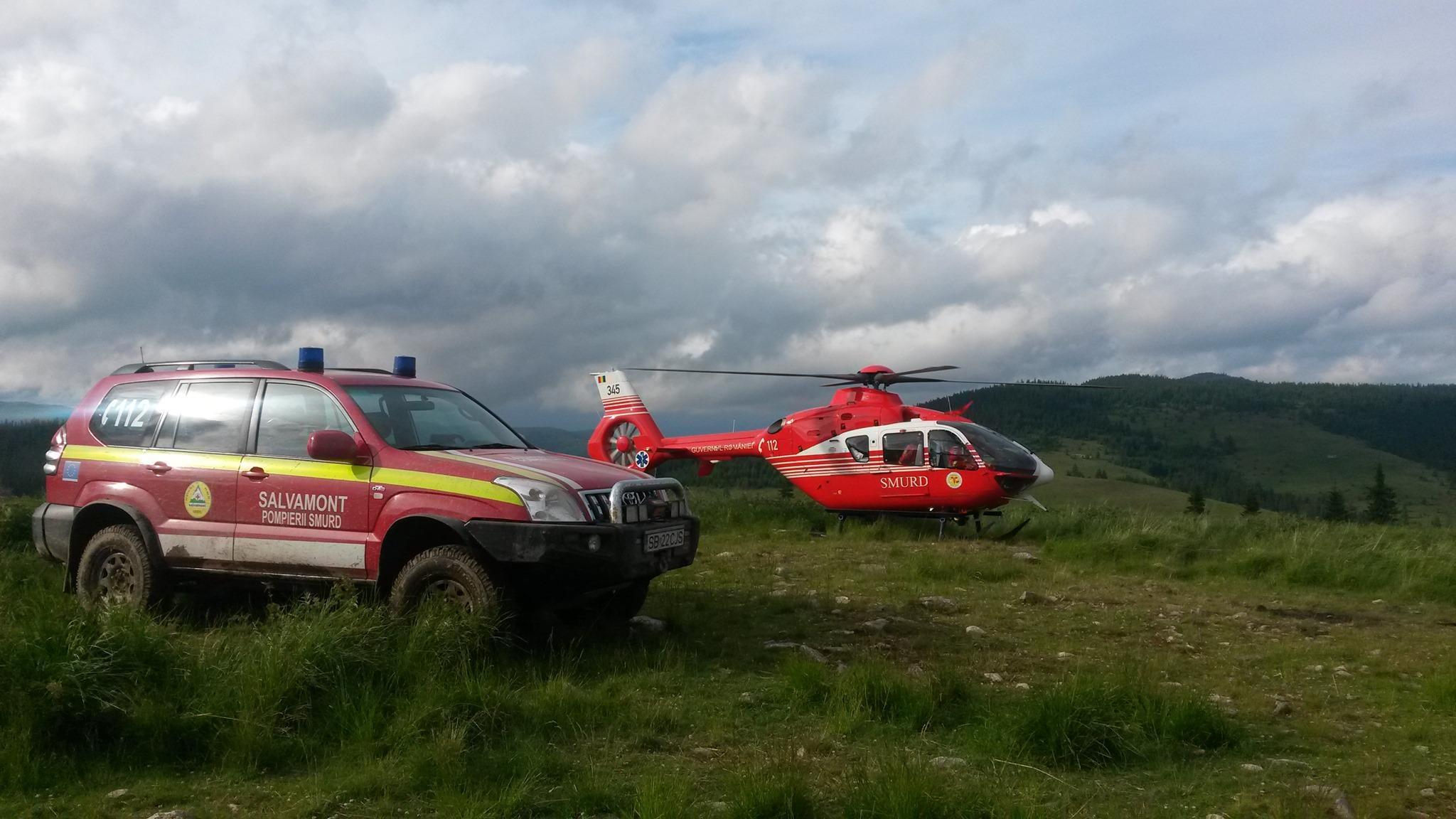 Operațiune de salvare a unei turiste din Ungaria, în zona Rimetea