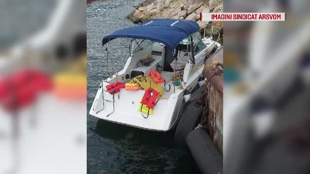 Iaht cu 6 persoane la bord, blocat în larg, în Marea Neagră. Oamenii au sunat la 112