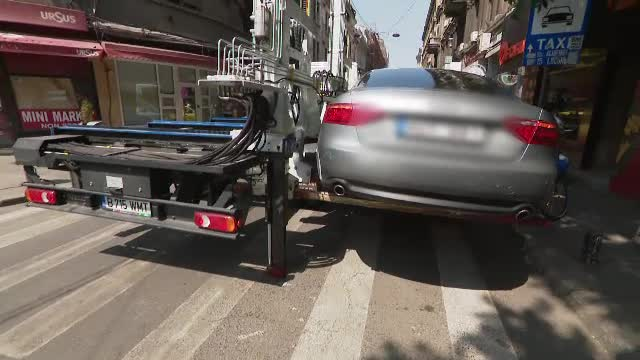 Primăria Sectorului 1 vrea să ridice mașinile parcate neregulamentar și cele abandonate