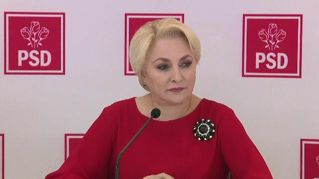 Dăncilă propune partidelor semnarea unui Pact naţional pentru bunăstarea românilor