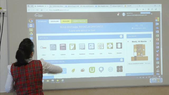 Sindicatele din învăţământ cer spor de calculator pentru orele online.