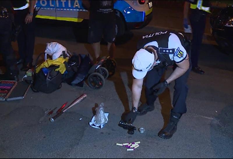 Filtre în București după moartea lui Emi Pian. Ce au găsit polițiștii în mașinile verificate în Giulești