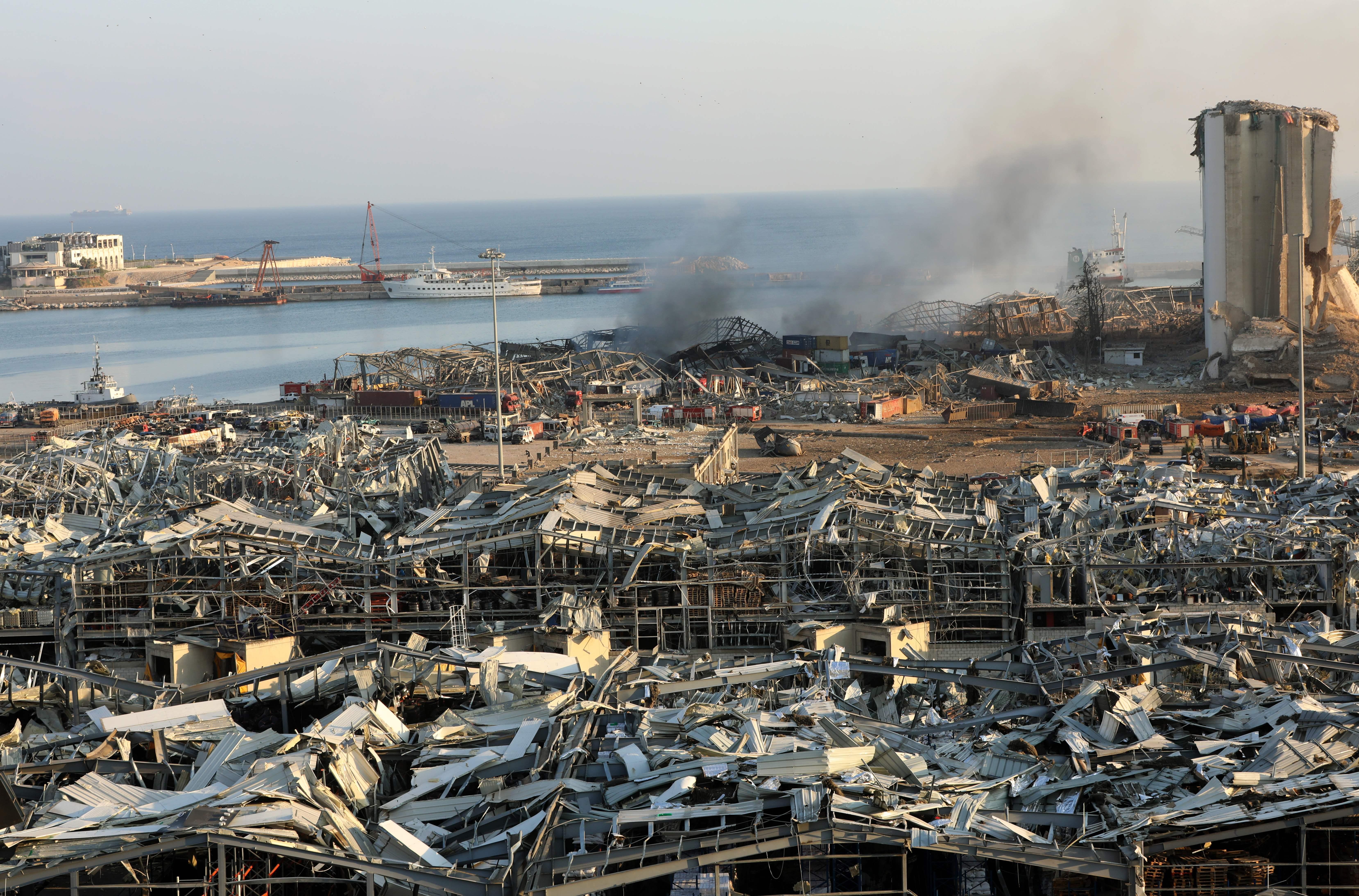 Explozia din Beirut a fost atât de puternică încât a fost detectată în Germania. Ce spun experții