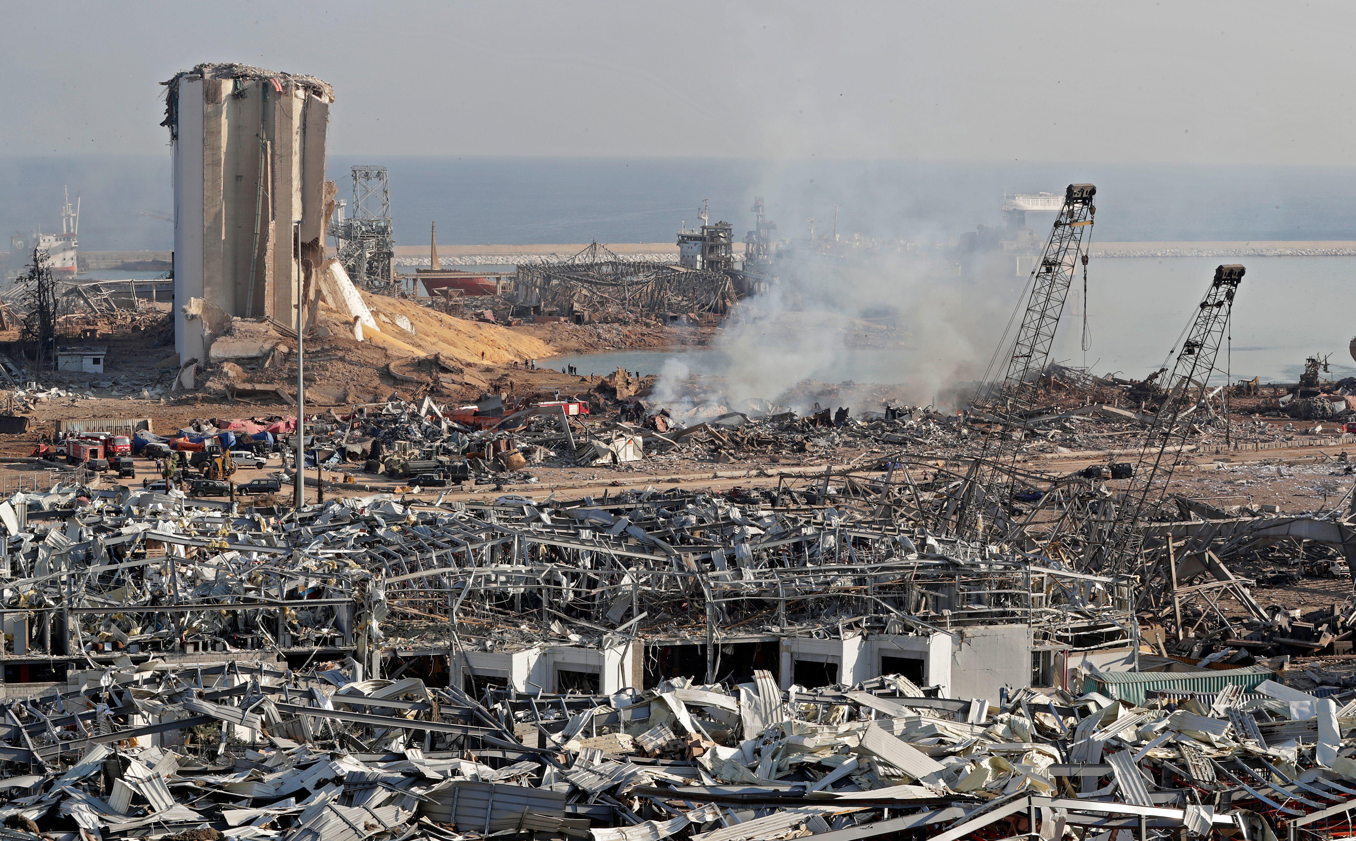Economia libaneză s-ar putea contracta în acest an cu 20%-25%, după explozia din Beirut