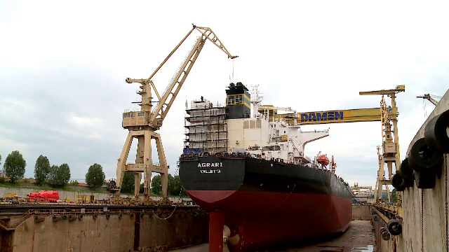 Damen concediază 870 de muncitori români de pe șantierele navale Galați și Mangalia