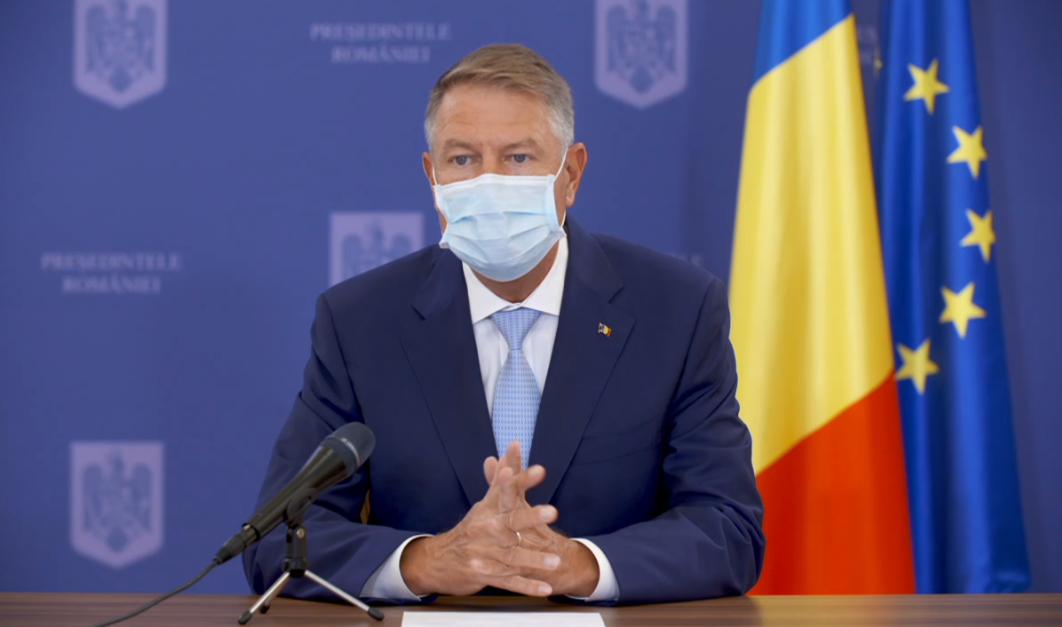 Klaus Iohannis: Până nu va apărea un vaccin eficient, vom avea restricții severe