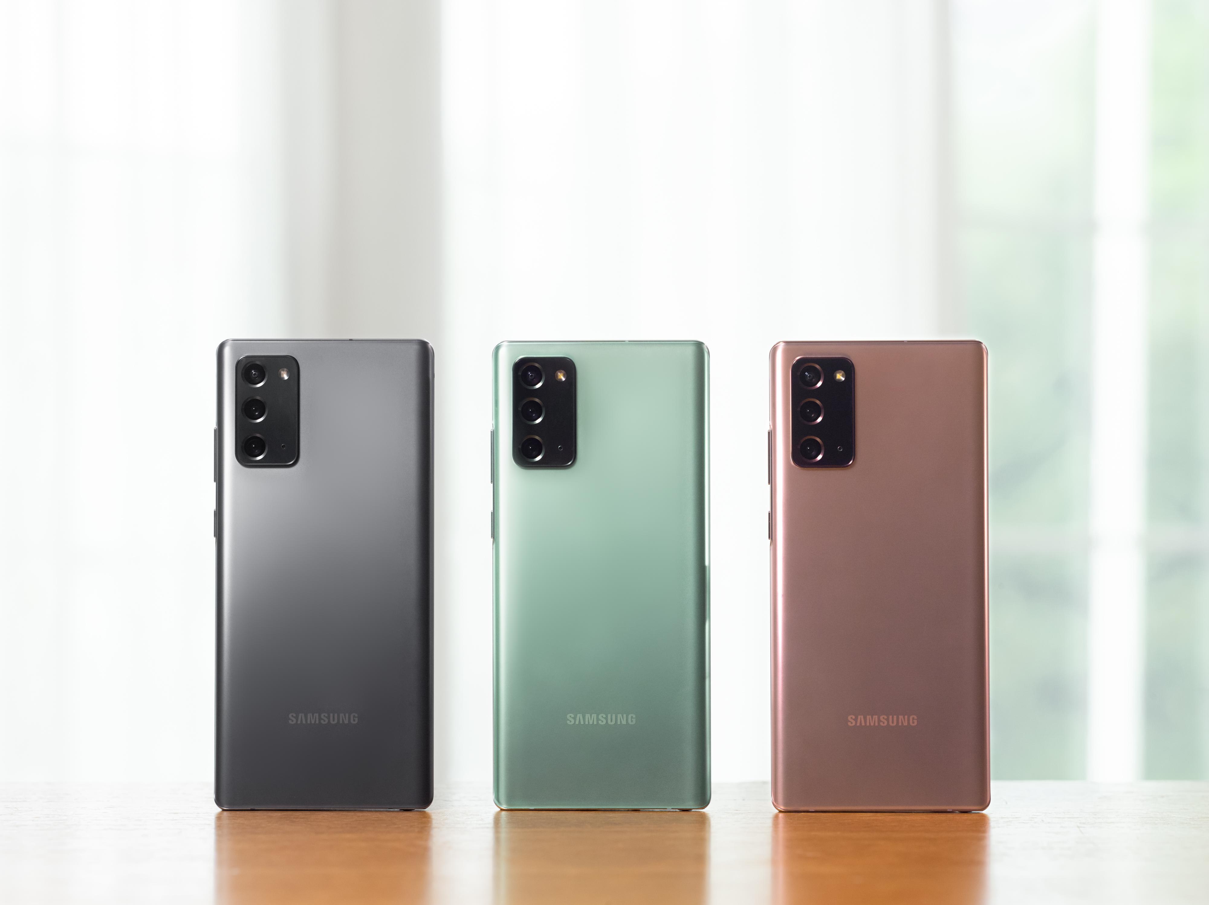 Samsung și-a lansat cele mai bune telefoane, seria Galaxy Note 20. Cameră uimitoare de 108 MP