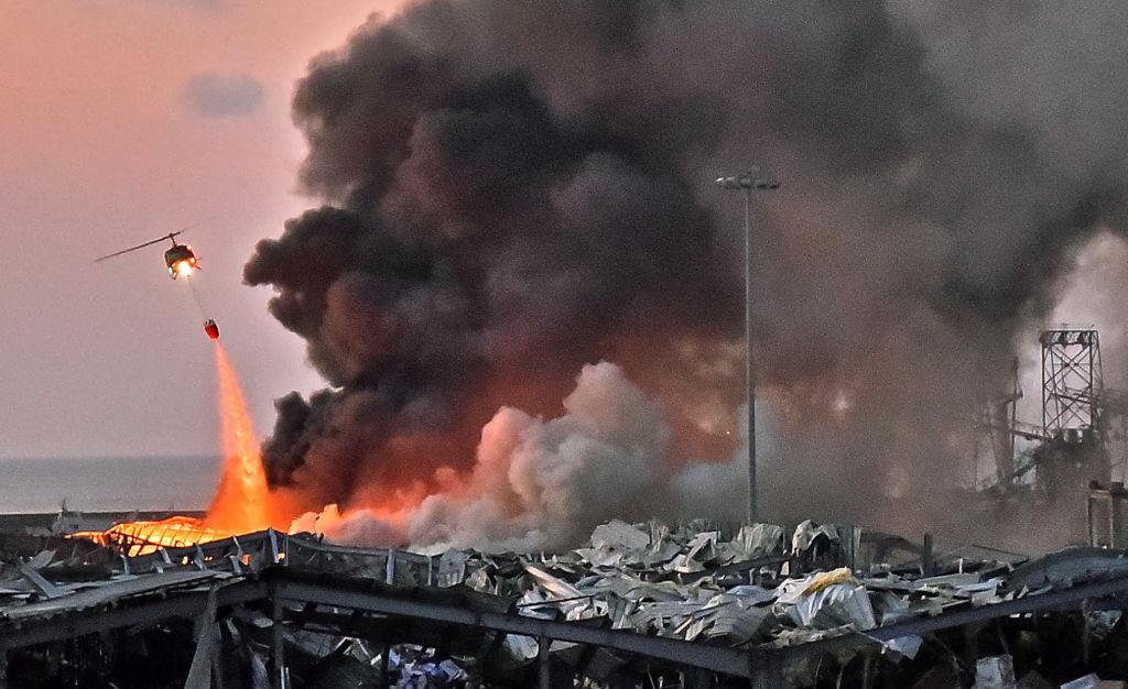 """Explozia din Beirut. Povestea pompierilor trimiși în mijlocul dezastrului. """"Parcă s-ar fi evaporat"""""""