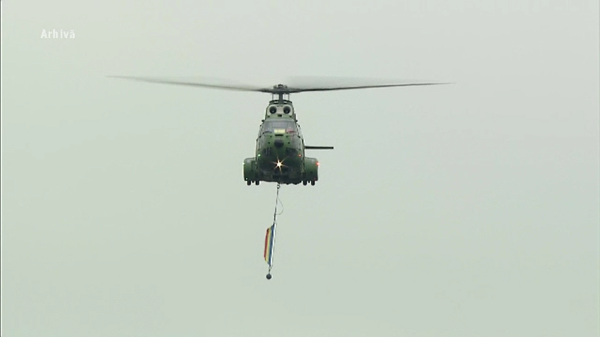 Un elicopter al Armatei române a fost avariat de o furtună puternică în Mali