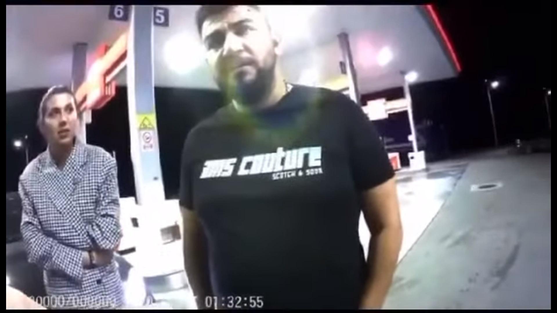 """Reacția unui cântăreț de manele când a fost amendat pentru că nu purta masca în benzinărie. """"Te blestem"""""""