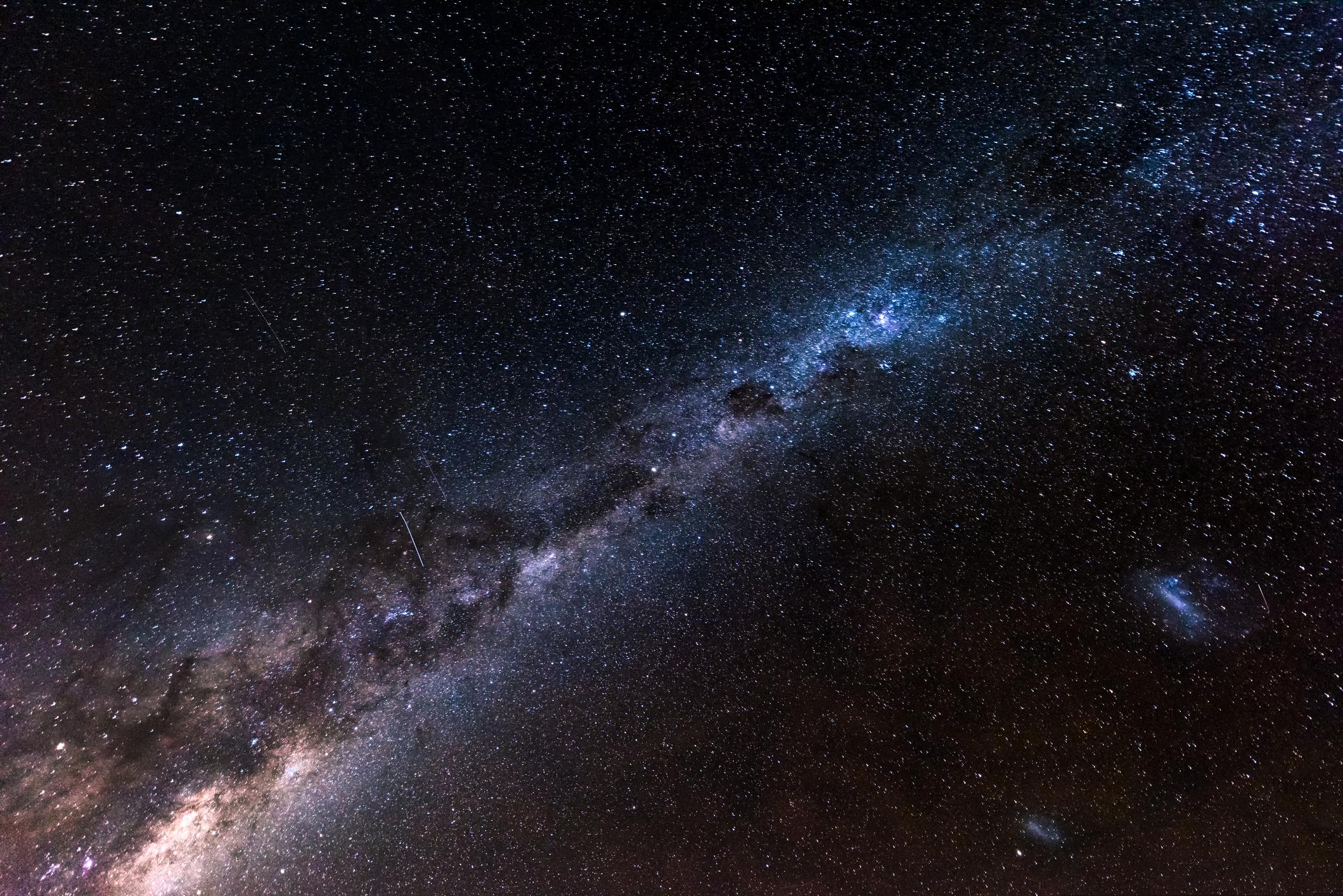 Cea mai mare hartă a materiei întunecate a Universului, creată de experți. FOTO