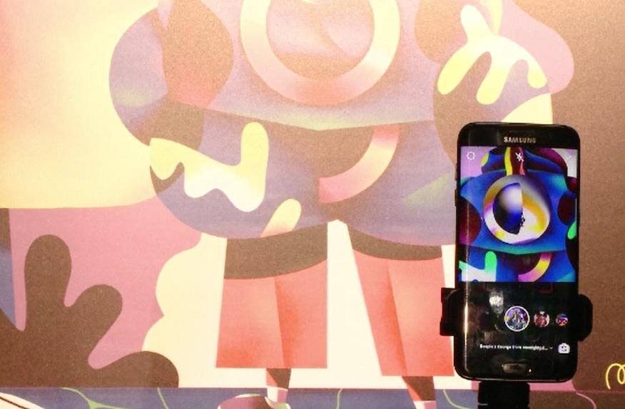 Timișorenii impresionați de One Night Gallery, expoziția unde arta se îmbină cu tehnologia