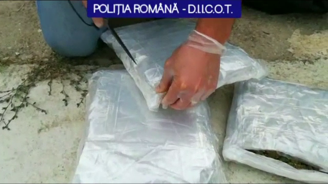 Traficanții Losangeles, McDonald's şi Barcelona, săltați de polițiștii din Iași. Ascundeau drogurile în scutecele copiilor