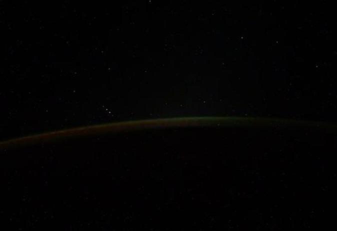 Un cosmonaut rus a vrut să filmeze Aurora Boreală. Ce a descoperit de fapt este uimitor. FOTO