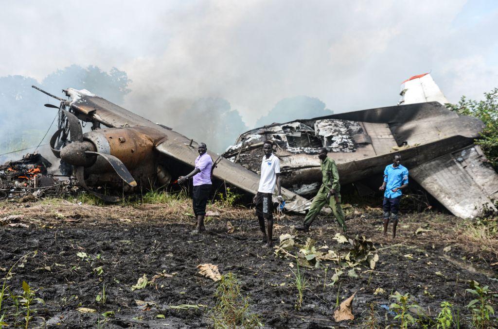 VIDEO. Un avion cargo s-a prăbușit în Sudanul de Sud. Sunt cel puțin 17 morți