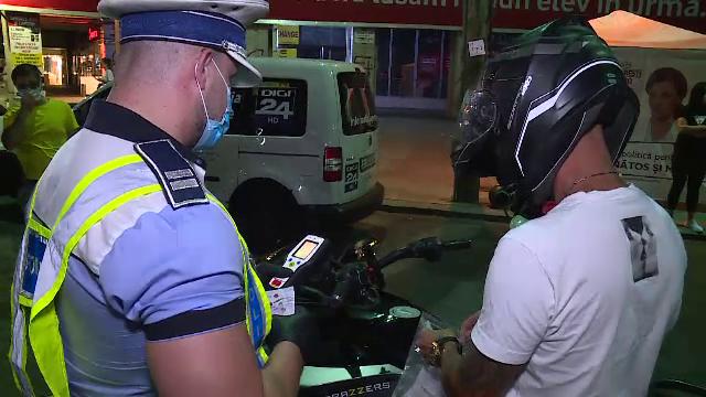 Razie a polițiștilor în Capitală. Au găsit șoferi beți sau sub influența substanțelor interzise