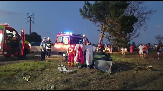 Accident mortal în Constanța. Cine se afla la volan