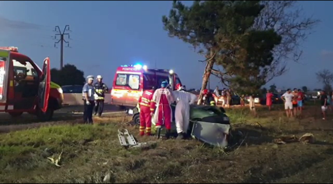 ULTIMA ORĂ: Accident mortal în Constanța. Cine se afla la volan