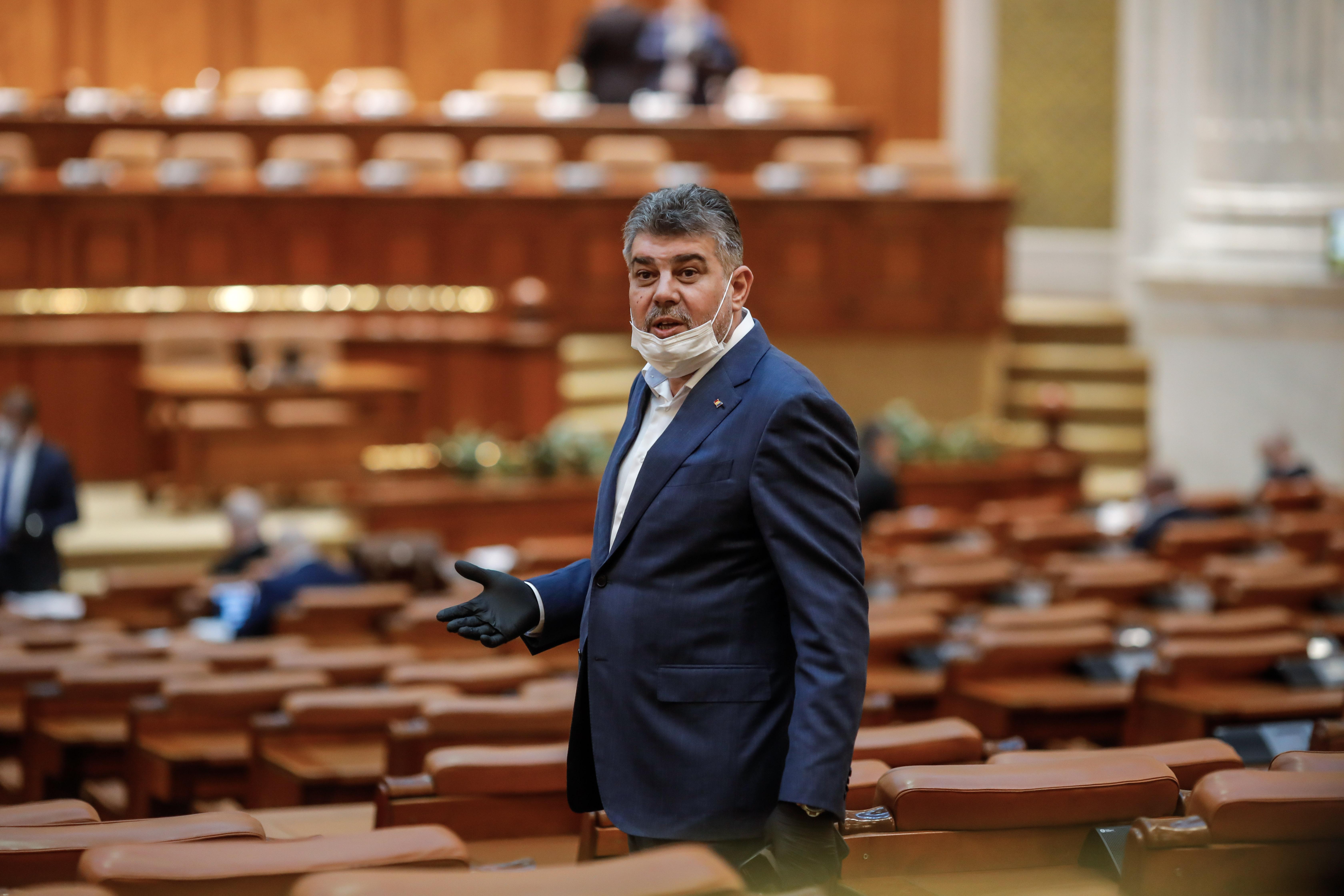 Ciolacu, către PNL și USR: Banii din pensiile speciale să se ducă la dublarea alocațiilor