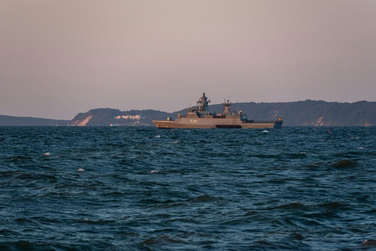 Germania a trimis o navă de război în Marea Chinei de Sud, pentru prima dată în ultimii 20 de ani