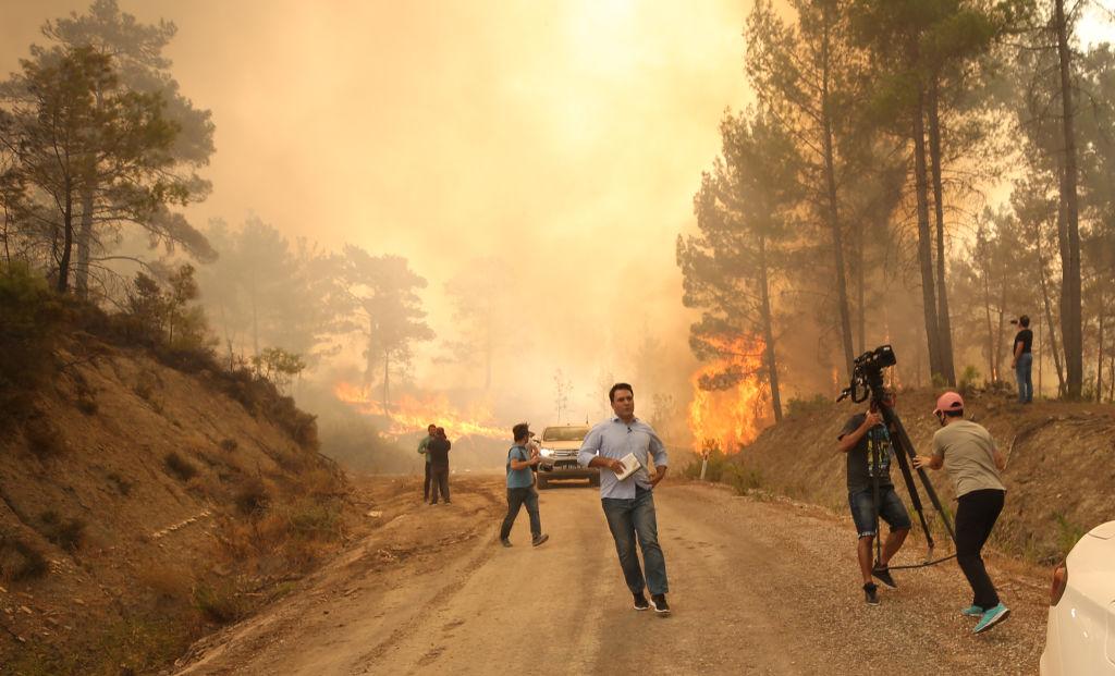 """Mărturia unui marinar român, martor la dezastrul din Turcia: """"Încercau să stingă incendiul cu mâinile goale"""""""