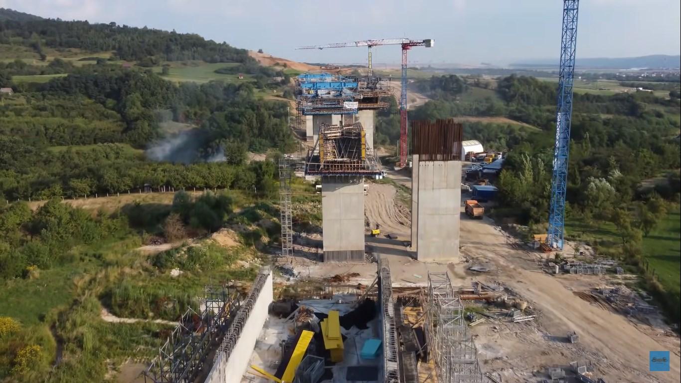 Ministrul Transporturilor: Stadiul lucrărilor pe lotul 1 al A1 Piteşti-Sibiu este de 46%
