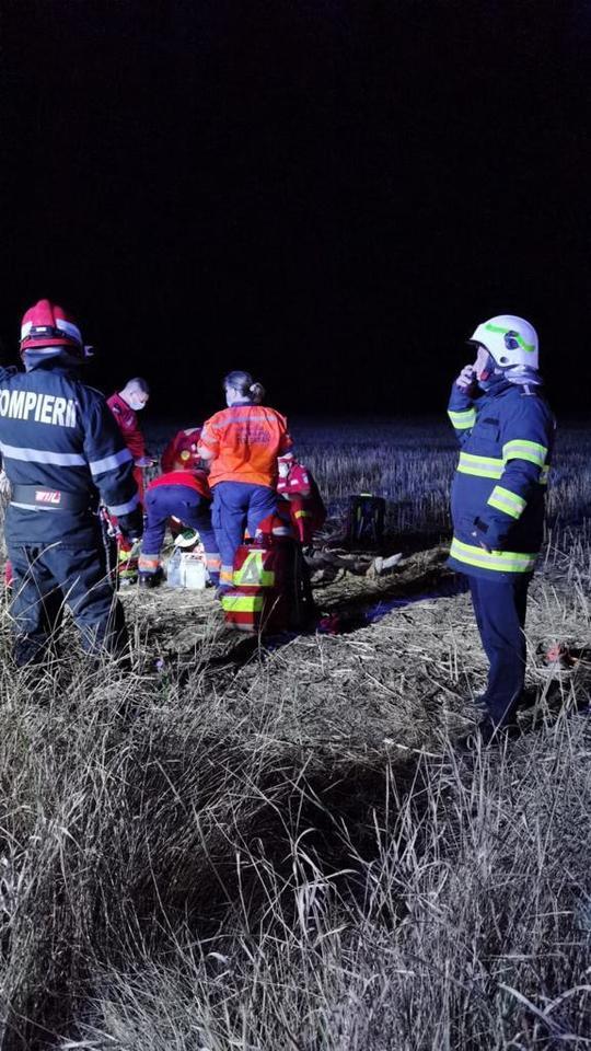 Grav accident în Teleorman. Sunt opt victime, dintre care două au murit